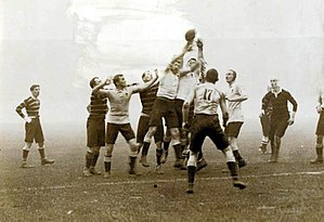 Rugby union in Cornwall - The rugby final at the 1908 Olympics