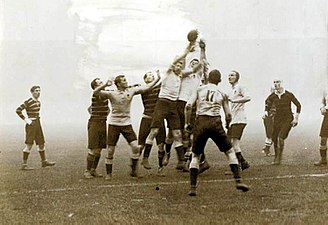 Rugby union at the Summer Olympics -  1908 Olympic Gold Final Wallabies v Cornwall.
