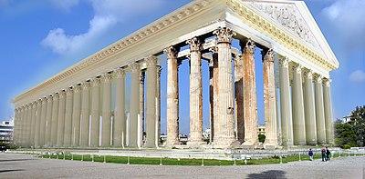 Templo de Zeus Olímpico (Atenas) - Wikipedia, la enciclopedia libre