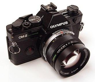 Olympus OM-2 - Image: Olympus OM 2 SP