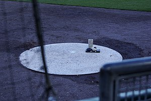 On-deck - An on-deck circle at Coca-Cola Field in Buffalo, New York