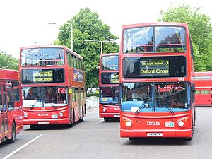 London Buses route 157 - Travel London Dennis Trident 2 at Crystal Palace in June 2009