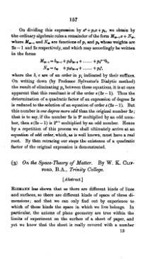 On the Space-Theory of Matter.djvu