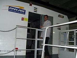 Pan Am International Flight Academy - One of the flight simulators