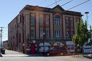 Colville Opera House and Odd Fellows Hall United States historic place