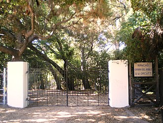 West Hills, Los Angeles - Orcutt Ranch native oaks and entry gates