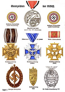 Political decorations of the Nazi Party
