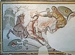 Orient méditerranéen de l'Empire romain - Mosaïque byzantine -5.JPG