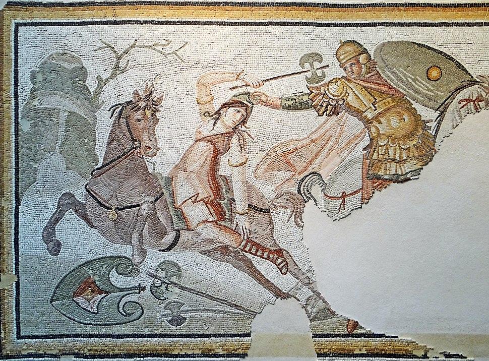 Orient méditerranéen de l'Empire romain - Mosaïque byzantine -5