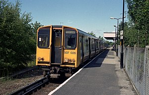 Arriva Trains Merseyside - Image: Ormskirk station geograph.org.uk 811561