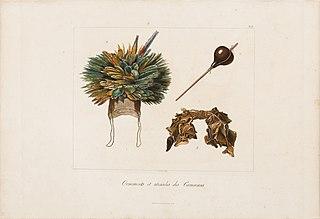 Ornements et utensiles des Camacans