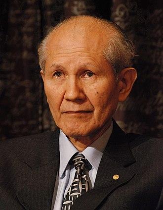 Osamu Shimomura - Shimomura in 2008