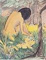 Otto Meller - Kauernder Akt im Wald - ca1927.jpeg