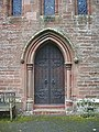 Our Lady and St Wilfred Church, Warwick Bridge, Doorway - geograph.org.uk - 935460.jpg