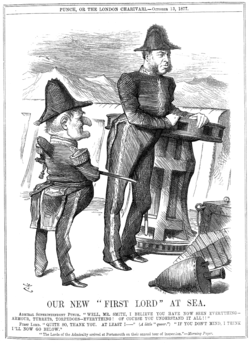 William Henry Smith in Punch