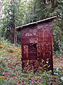 Outhouse, Paul Denhardt Cabin, Dawson City (7978158341).jpg