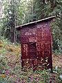 Outhouse, Paul Denhardt Cabin, Dawson City (7978158341).jpg