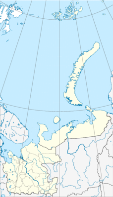 Location map Russia Arkhangelsk Oblast 2