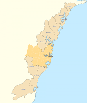 Outside Sydney divisions overview 2010
