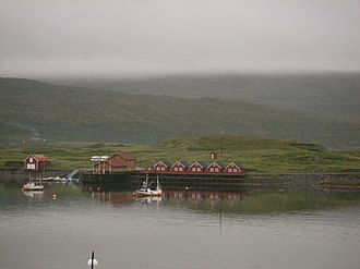 Overcast - A completely overcast sky in Mehamn, Norway