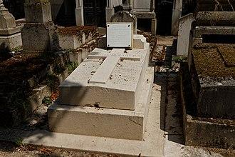 Pierre Jouguet - Jouguet's grave at Pere Lachaise Cemetery
