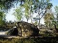 Péroy-les-Gombries (60), blocs de grès dans le bois communal.jpg