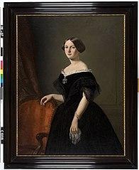 Portret van een vrouw van de familie Bremer