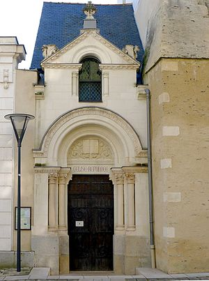 Le temple protestant. - Angers