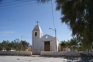 Ramos Arizpe - A church in Ramos Arizpe