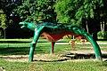 PL-PK Mielec, rzeźba Pająk (Grażyna Roman 1987-1989) 2016-08-12--09-04-58-002.jpg