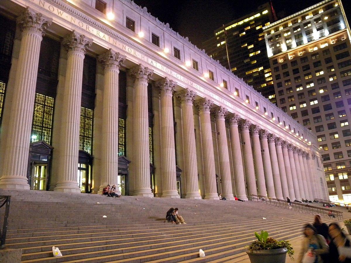 詹姆斯·A·法利邮政局大楼 - 维基百科,自由的百科全书