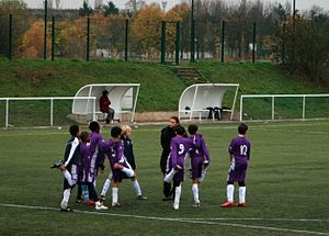 Paris Université Club - Young footballers of PUC