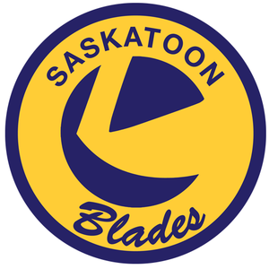 Saskatoon Blades - Image: Pac Man Logo W Text