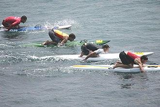 Paddleboarding - Image: Paddleboard race