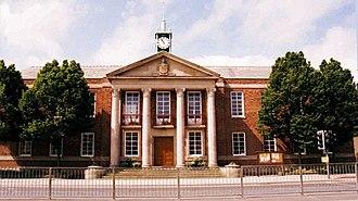 Padiham - Image: Padiham Town Hall