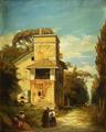 Paisagem com figuras da Villa Borghese, Roma (c. 1847) - Visconde de Meneses.png