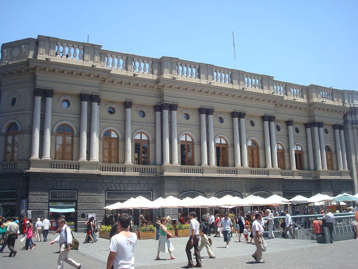 Palacio arzobispal de santiago wikipedia la for Construccion de piscinas santiago chile
