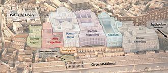 Flavian Palace - Domus Flavia on the Palatine