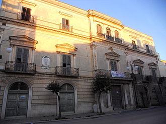 Spinazzola - Palazzo Saraceno.
