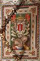 Palazzo colonna, appartamento della principessa isabelle, sala del tempesta, affreschi di cristoforo pomarancio e scuola 03 stemma colonna.JPG