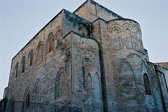 La Magione, Palermo - Side view and apse