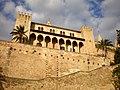 Palma de Mallorca - Palacio de la Almudaina - panoramio.jpg