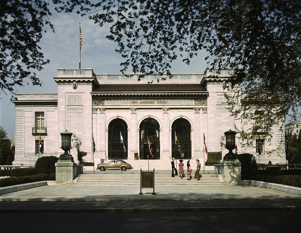 Pan American Union, Washington, DC in 1943