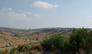 Raffadali - Image: Panorama di Raffadali