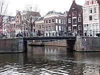 Pansemertbrug, brug 124 in de Prinsengracht over de Egelantiersgracht foto1.JPG