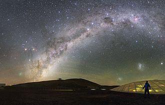 252P/LINEAR - Image: Paranal sky with comet