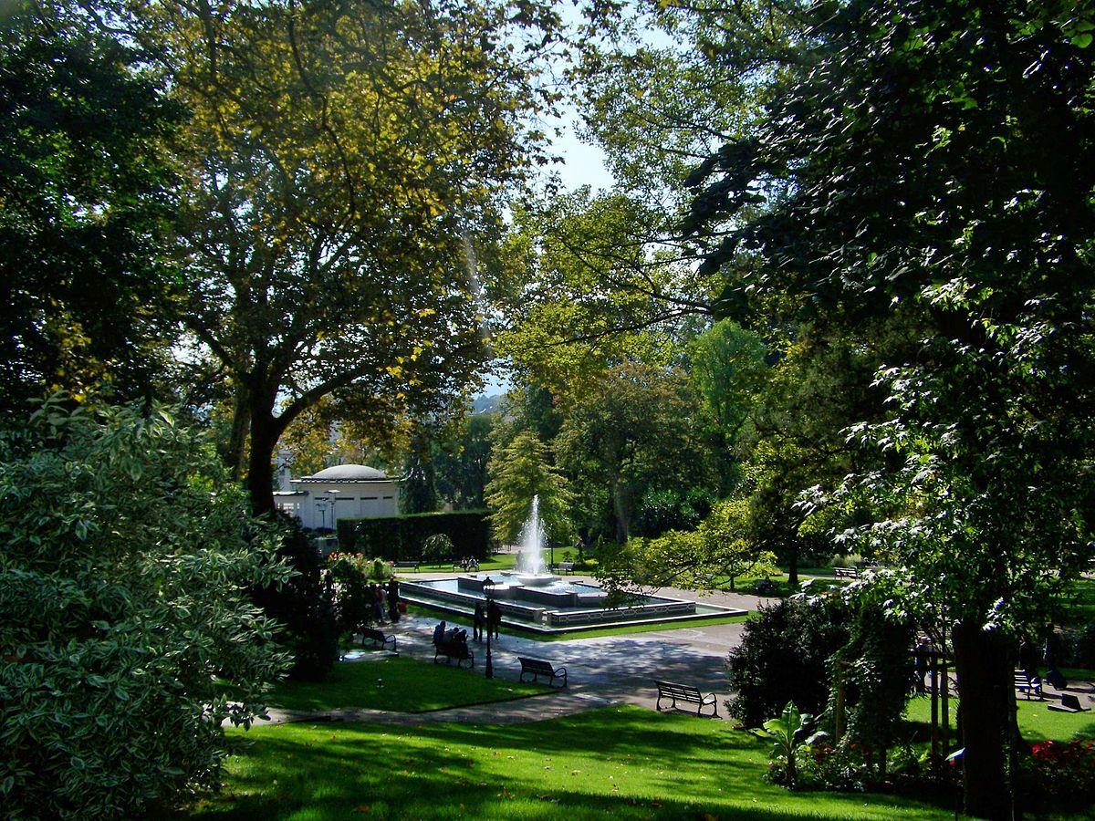 Parc floral des thermes wikip dia - Thermes argeles gazost jardin bains ...