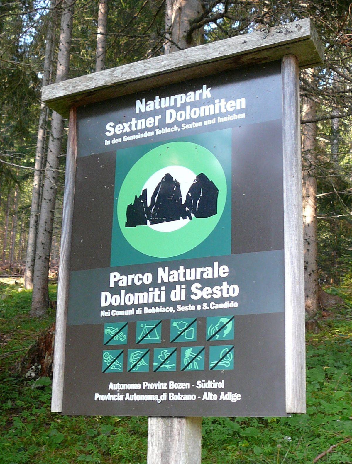 Px Parco Naturale Dolomiti Di Sesto