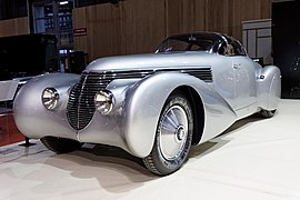 Paris - Retromobile 2012 - Hispano-Suiza type H6 C - 1938 - 002.jpg