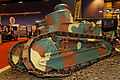 Paris - Retromobile 2014 - Char léger Renault FT - 006.jpg
